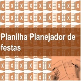 Planilha Planejador Festas