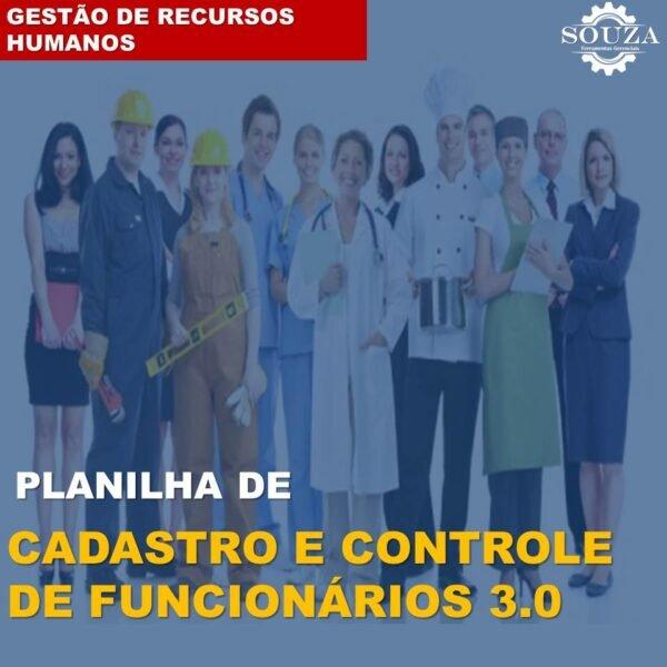 Cadastro e Controle de Funcionários 3.0