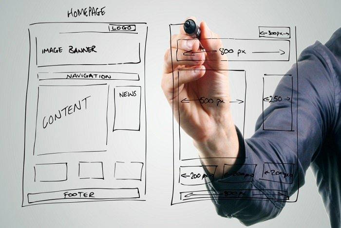 criar um bom site profissional