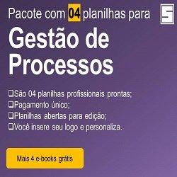 Pacote Planilhas-Processos